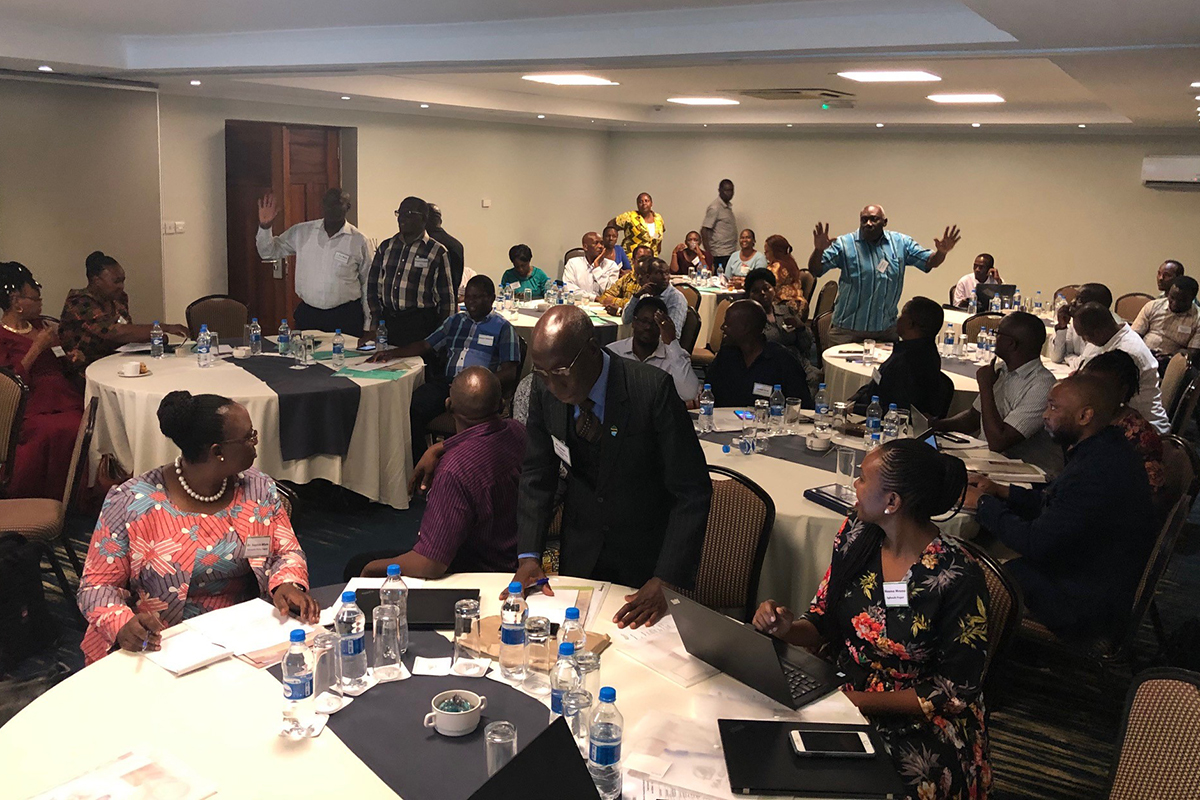 The event brought together public and private stakeholders from across Tanzania's dairy sector.