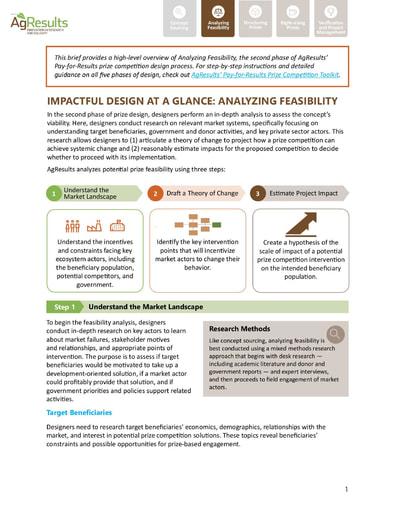 Design Brief #2: Analyzing Feasibility
